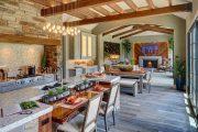 Фото 25 Кухня-столовая в частном доме: секреты зонирования и практические советы по декору
