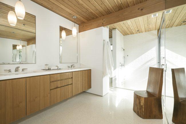 Благодаря антибактериальному свойству миланский орех можно использовать в помещениях с повышенной влажностью