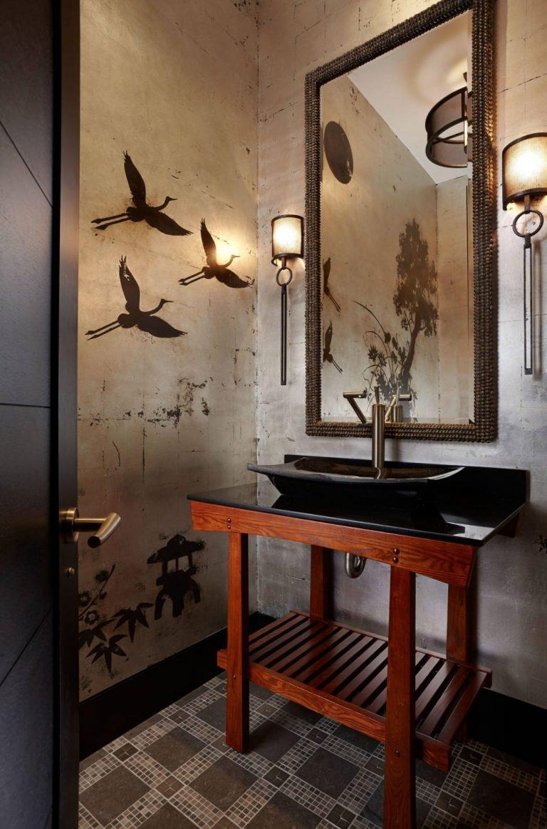 Декор в ванной комнате 100 идей для ванной вашей мечты (29) 45