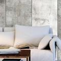 Обои под бетон: очарование лофта в интерьере современной квартиры фото