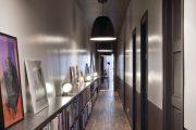 Фото 4 Как организовать правильное освещение в коридоре квартиры (90 фото): советы и лучшие идеи