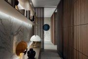 Фото 2 Как организовать правильное освещение в коридоре квартиры (90 фото): советы и лучшие идеи