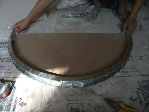 Далее формируем необходимую форму, например, дугу