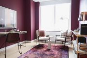 Фото 33 Королевский пурпурный и роскошный «ultra violet»: 75+ идей элегантного дизайна с сиреневыми обоями