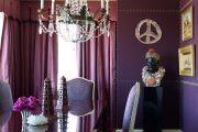 Фото 34 Королевский пурпурный и роскошный «ultra violet»: 75+ идей элегантного дизайна с сиреневыми обоями
