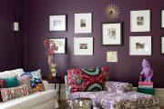 Фото 3 Королевский пурпурный и роскошный «ultra violet»: 75+ идей элегантного дизайна с сиреневыми обоями