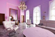 Фото 7 Сиреневые обои: 75 готовых вариантов стильного дизайна в пурпурной гамме