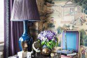 Фото 4 Королевский пурпурный и роскошный «ultra violet»: 75+ идей элегантного дизайна с сиреневыми обоями