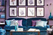 Фото 9 Сиреневые обои: 75 готовых вариантов стильного дизайна в пурпурной гамме