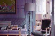Фото 10 Сиреневые обои: 75 готовых вариантов стильного дизайна в пурпурной гамме