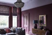 Фото 11 Королевский пурпурный и роскошный «ultra violet»: 75+ идей элегантного дизайна с сиреневыми обоями