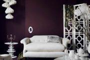 Фото 12 Королевский пурпурный и роскошный «ultra violet»: 75+ идей элегантного дизайна с сиреневыми обоями