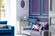 Фото 16 Королевский пурпурный и роскошный «ultra violet»: 75+ идей элегантного дизайна с сиреневыми обоями