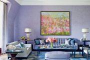 Фото 20 Королевский пурпурный и роскошный «ultra violet»: 75+ идей элегантного дизайна с сиреневыми обоями