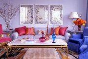 Фото 22 Королевский пурпурный и роскошный «ultra violet»: 75+ идей элегантного дизайна с сиреневыми обоями
