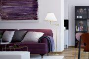 Фото 25 Королевский пурпурный и роскошный «ultra violet»: 75+ идей элегантного дизайна с сиреневыми обоями