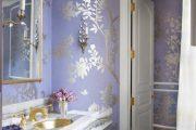 Фото 26 Королевский пурпурный и роскошный «ultra violet»: 75+ идей элегантного дизайна с сиреневыми обоями