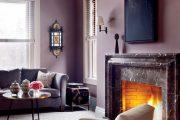 Фото 28 Сиреневые обои: 75 готовых вариантов стильного дизайна в пурпурной гамме