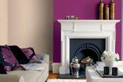 Фото 29 Королевский пурпурный и роскошный «ultra violet»: 75+ идей элегантного дизайна с сиреневыми обоями