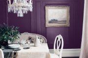 Фото 30 Королевский пурпурный и роскошный «ultra violet»: 75+ идей элегантного дизайна с сиреневыми обоями