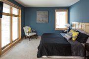 Фото 38 Спальня в синем цвете: как создать уютный и теплый интерьер в холодной гамме