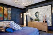 Фото 33 Спальня в синем цвете: как создать уютный и теплый интерьер в холодной гамме