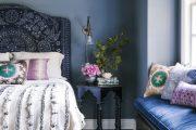 Фото 32 Спальня в синем цвете: как создать уютный и теплый интерьер в холодной гамме