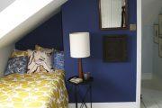 Фото 28 Спальня в синем цвете: как создать уютный и теплый интерьер в холодной гамме