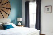 Фото 24 Спальня в синем цвете: как создать уютный и теплый интерьер в холодной гамме