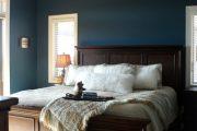 Фото 21 Спальня в синем цвете: как создать уютный и теплый интерьер в холодной гамме