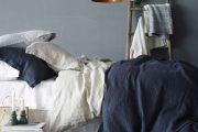Фото 20 Спальня в синем цвете: как создать уютный и теплый интерьер в холодной гамме