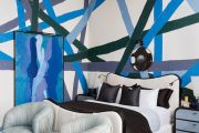 Фото 15 Спальня в синем цвете: как создать уютный и теплый интерьер в холодной гамме