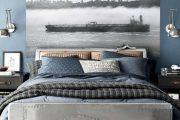 Фото 12 Спальня в синем цвете: как создать уютный и теплый интерьер в холодной гамме