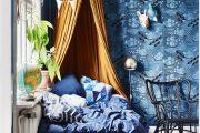 Фото 3 Спальня в синем цвете: как создать уютный и теплый интерьер в холодной гамме