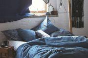 Фото 6 Спальня в синем цвете: как создать уютный и теплый интерьер в холодной гамме