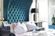 Фото 2 Спальня в синем цвете: как создать уютный и теплый интерьер в холодной гамме
