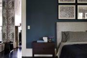 Фото 7 Спальня в синем цвете: как создать уютный и теплый интерьер в холодной гамме