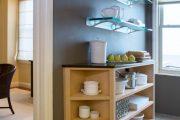 Фото 3 Стеклянные полки на стену: практичность, удобство и стиль для каждого