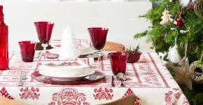 Идеи и советы от мастеров сервировки: как гармонично украсить стол на Новый год 2017 фото