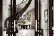 Фото 13 Темные двери в интерьере: 80 роскошных реализаций в цвете венге, ормозия и орех