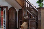 Фото 15 Темные двери в интерьере: 80 роскошных реализаций в цвете венге, ормозия и орех