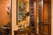 Фото 20 Темные двери в интерьере: 80 роскошных реализаций в цвете венге, ормозия и орех