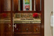 Фото 24 Темные двери в интерьере: 80 роскошных реализаций в цвете венге, ормозия и орех