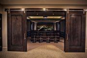 Фото 30 Темные двери в интерьере: 80 роскошных реализаций в цвете венге, ормозия и орех