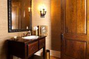 Фото 38 Темные двери в интерьере: 80 роскошных реализаций в цвете венге, ормозия и орех