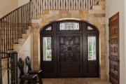 Фото 39 Темные двери в интерьере: 80 роскошных реализаций в цвете венге, ормозия и орех