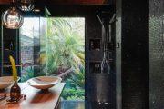 Фото 14 Темный потолок в интерьере: 80 роскошных и строгих дизайнерских вариантов