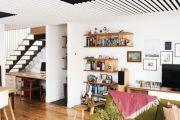 Фото 16 Темный потолок в интерьере: 80 роскошных и строгих дизайнерских вариантов