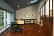 Фото 18 Темный потолок в интерьере: 80 роскошных и строгих дизайнерских вариантов