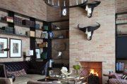 Фото 4 Темный потолок в интерьере: 80 роскошных и строгих дизайнерских вариантов